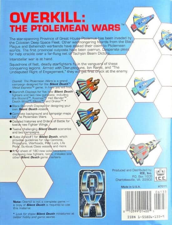 Overkill – The Ptolomean Wars-back-small