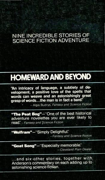 Poul Anderson Homeward and Beyond-back-small
