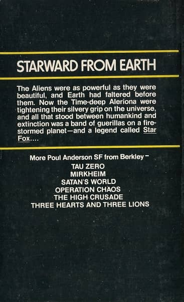 Poul Anderson The Star Fox-back-small