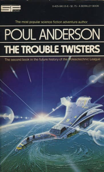 Poul Anderson The Trouble Twisters-small