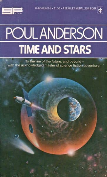 Poul Anderson Time and Stars-small