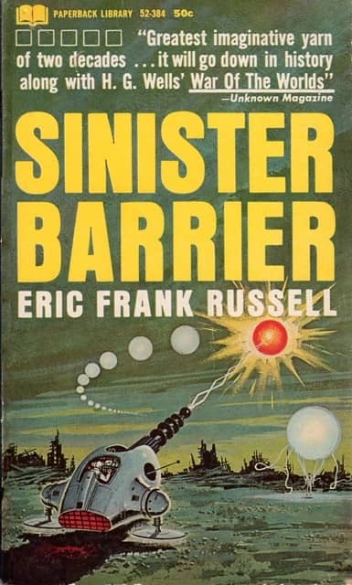 Sininster Barrier Paperback Library 1964-small