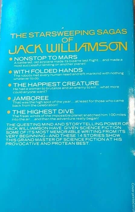 The Best of Jack Williamson-back-small