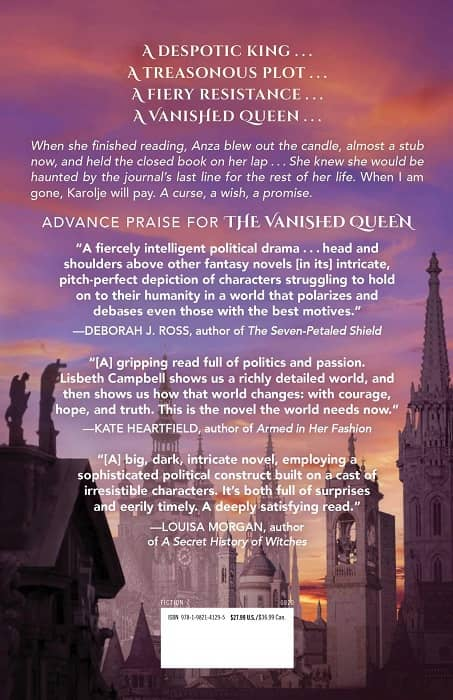The Vanished Queen-back-small