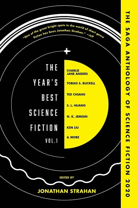 The Year's Best Science Fiction Volume 1 The Saga Anthology of Science Fiction 2020-small