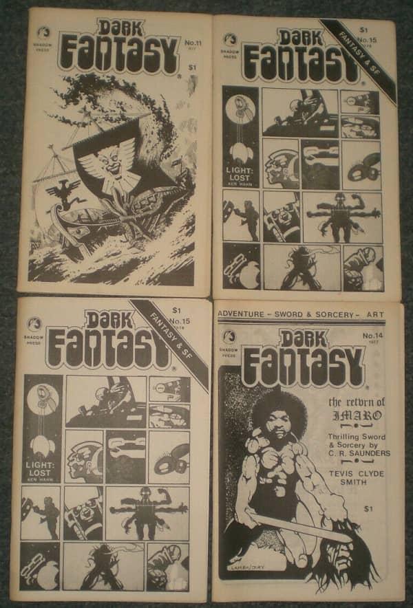 Dark Fantasy fanzine Charles Saunders-small
