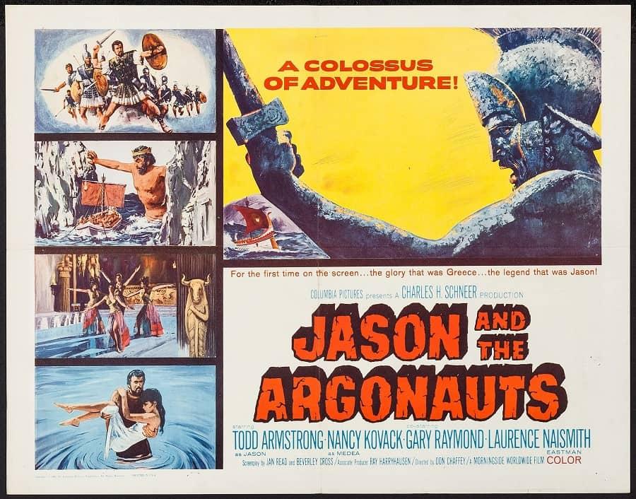 Jason and the Argonauts 1963 poster-small