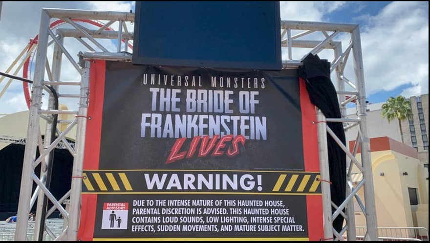 One of two haunted attractions at Universal Studios Florida