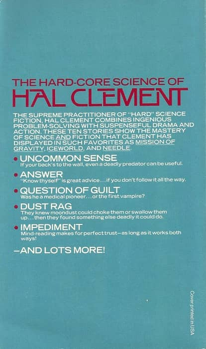 The Best of Hal Clement-back-small