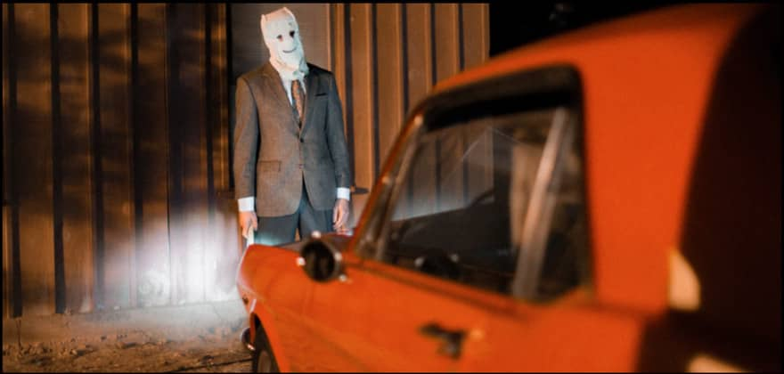 The drive through haunted attraction