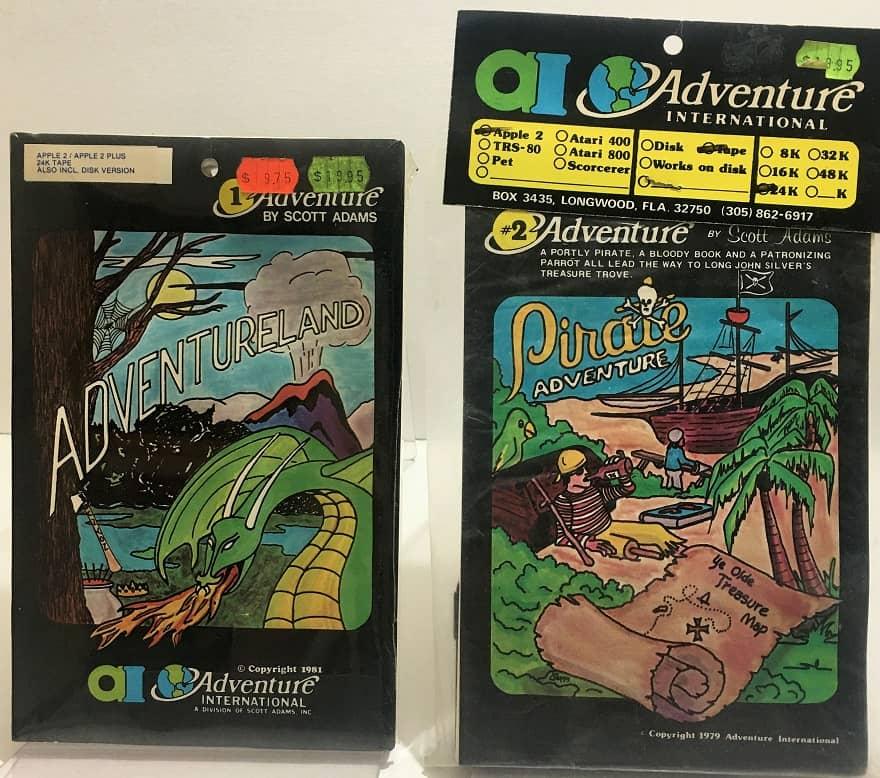 adventure #1 - adventureland - adventure #2 - pirate adventure - apple - adventure international-small