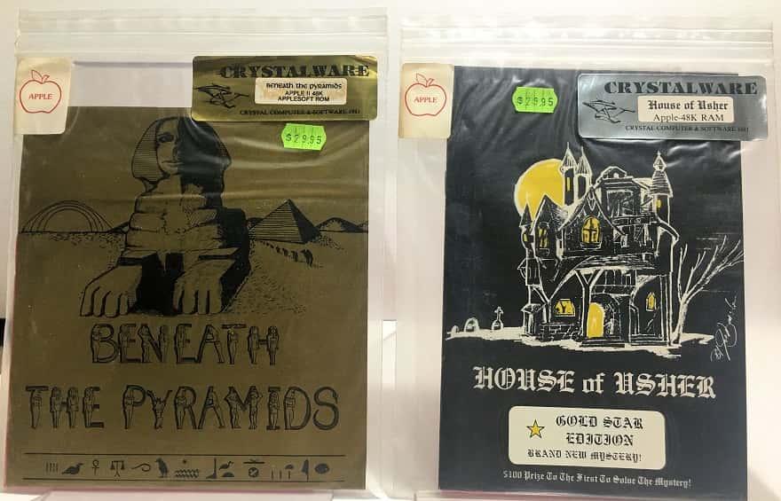 beneath the pyramids - house of usher - apple - crystalware-small