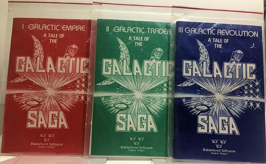 galactic empire - galactic trader - galactic revolution - apple - broderbund software-small
