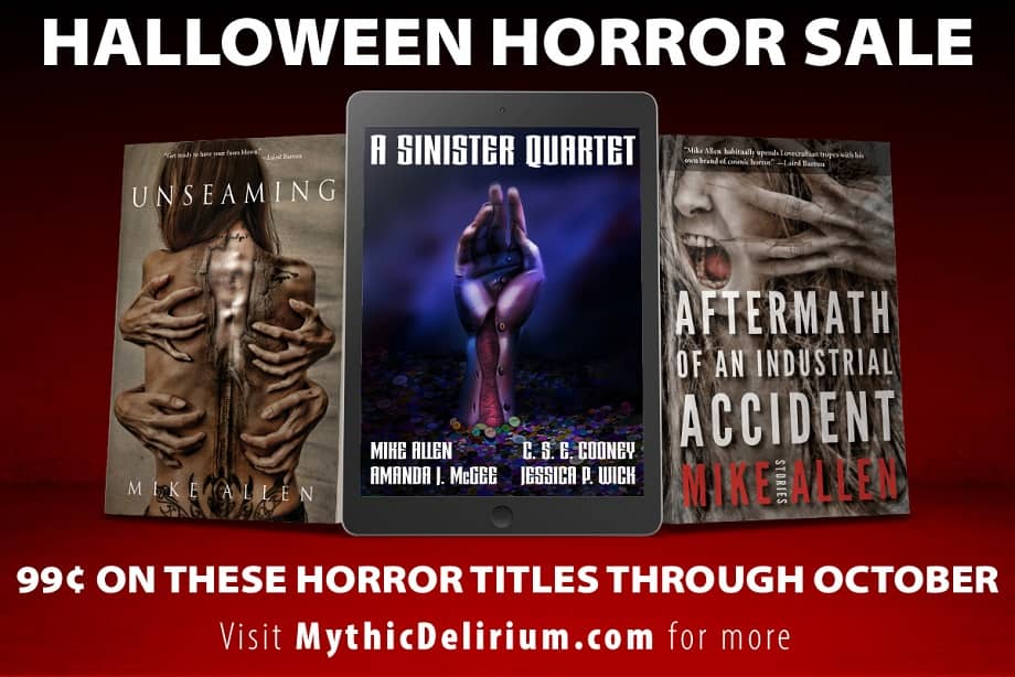 Mythic Delirium Halloween Horror Sale