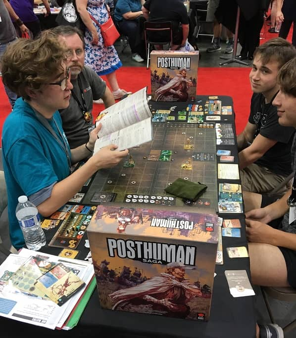 Posthuman Saga at Gen Con-small