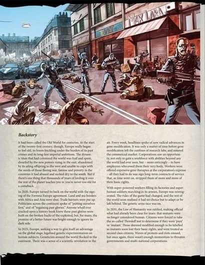 Posthuman Saga story book backstory-small