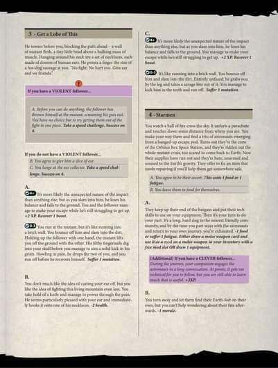 Posthuman Saga story book sample 2-small