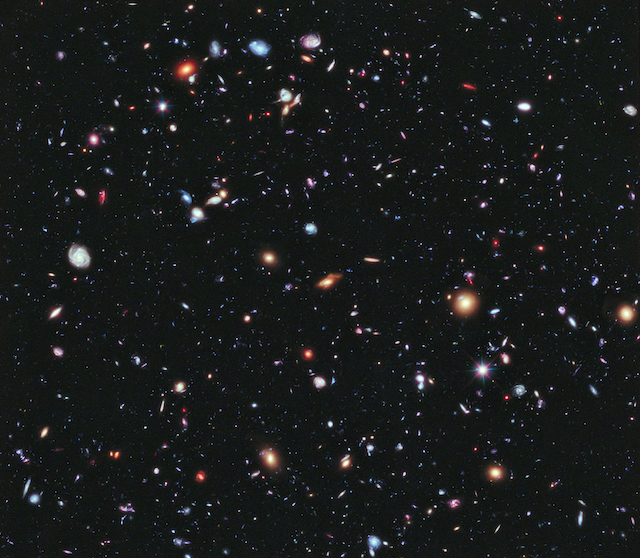 Hubble goes to the extreme to assemble farthest-ever view of the universe. Released on September 25th, 2012. Original from NASA. Digitally enhanced by rawpixel.