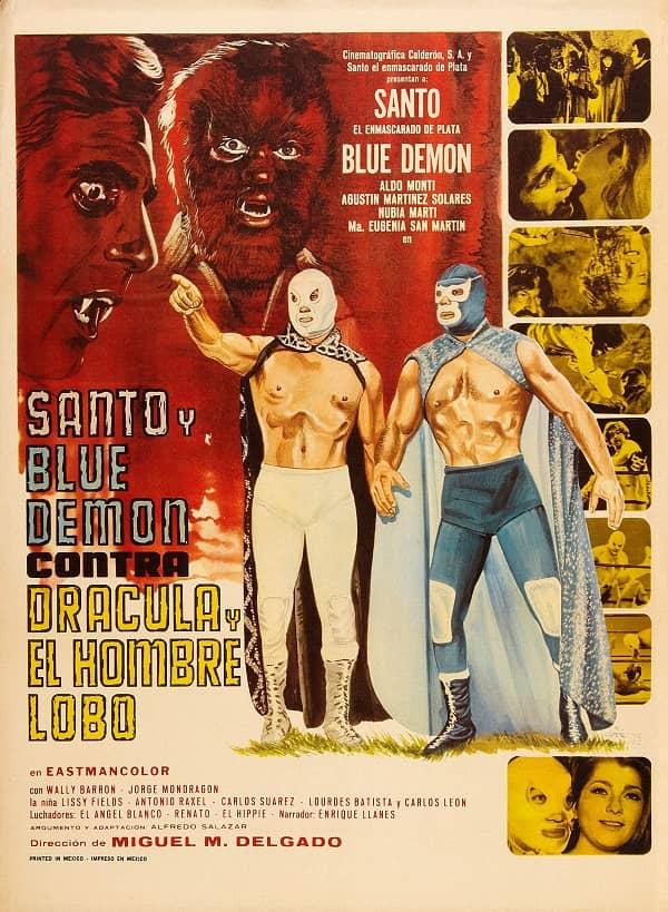 nto y Blue Demon Contra Dracula
