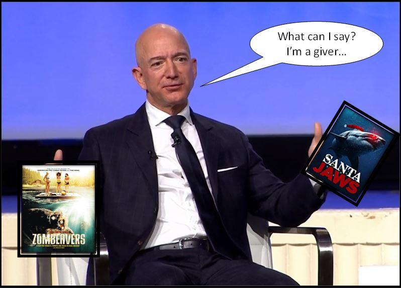 Bezos Santa Jaws