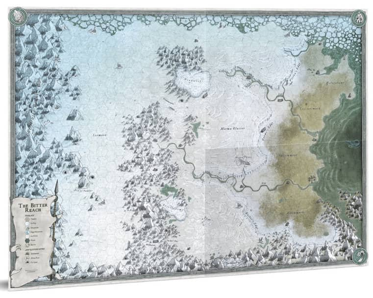 Forbidden Lands The Bitter Reach Map
