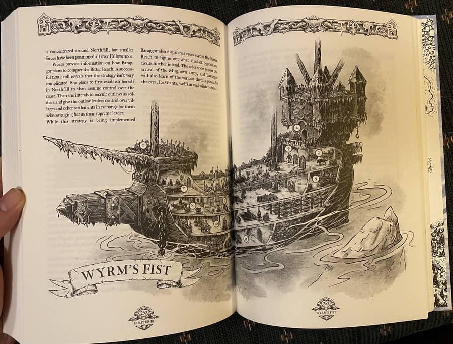 Forbidden Lands The Bitter Reach-Wyrns Fist-small