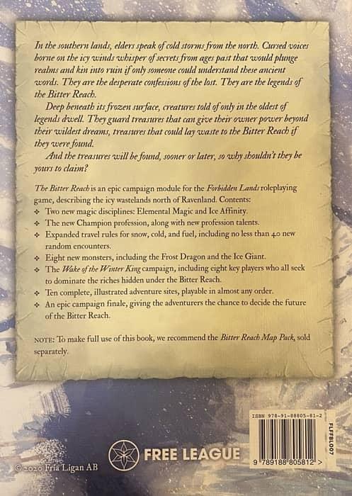 Forbidden Lands The Bitter Reach-back-small