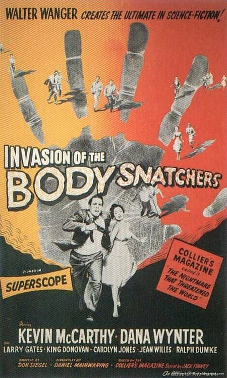 Invasion of the Body Snatchers poster-small