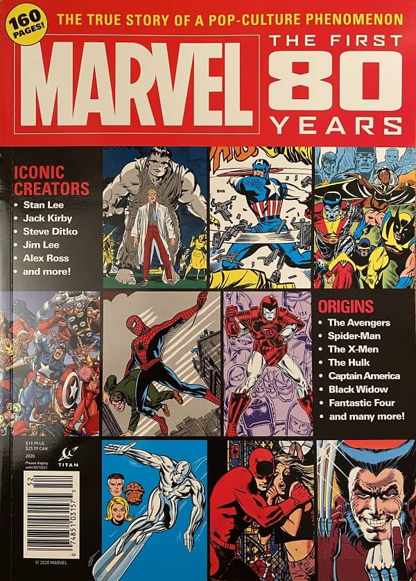 Marvel the First 80 Years magazine-small
