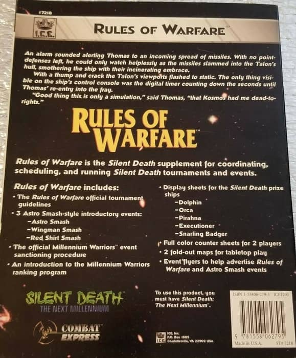 Silent Death Rules of Warfare-back-small