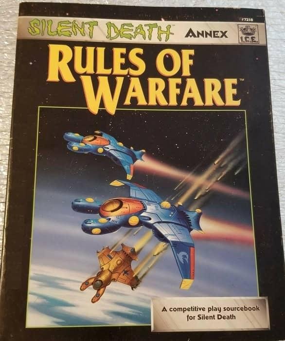 Silent Death Rules of Warfare-small