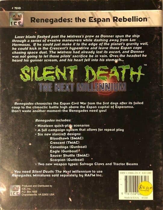 Silent Death The Next Millenium Renegades-back-small