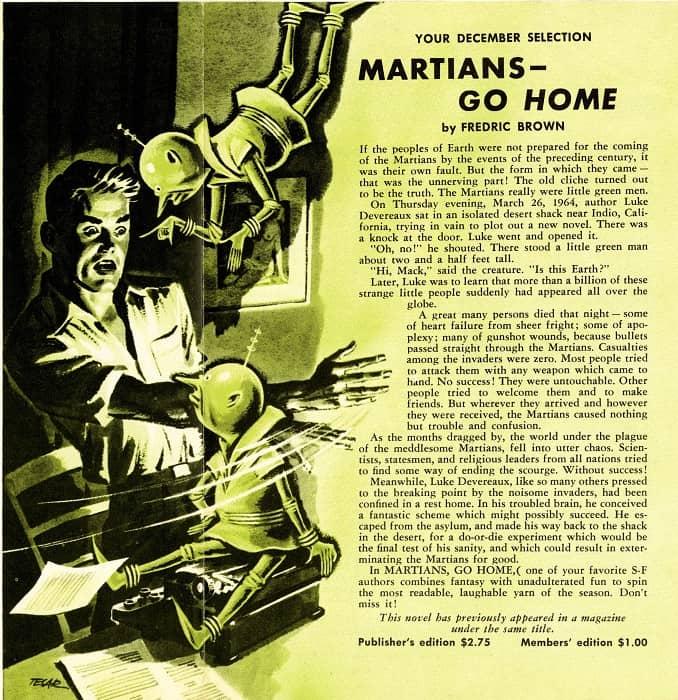 TTC 1955 11-12 Fredric Brown Martians - Go Home-small