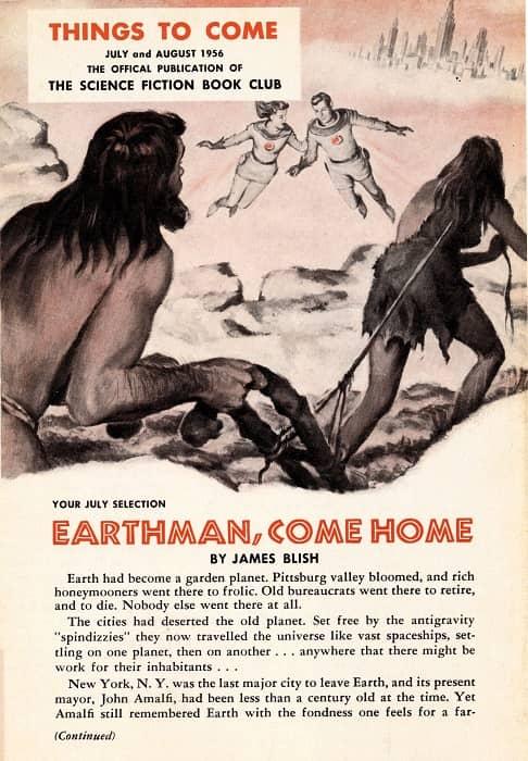 TTC 1956 07-08 James Blish Earthman Come Home-small