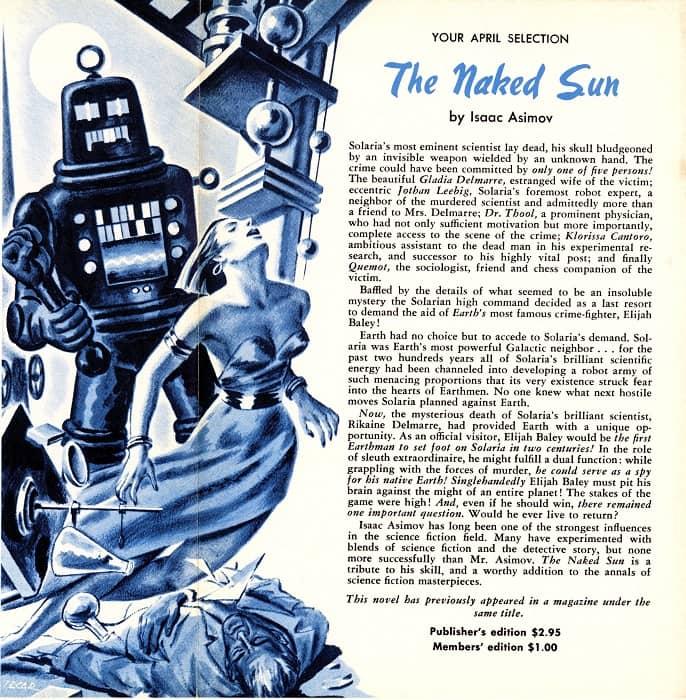 TTC 1957 03-04 Isaac Asimov The Naked Sun-small