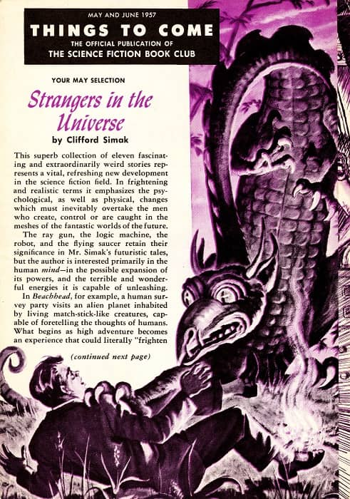 TTC 1957 05-06 Clifford Simak Strangers in the Universe-small
