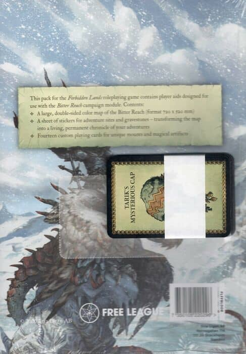 The Bitter Reach Map and Cards Pack-back-small