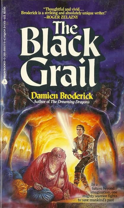 The Black Grail Damien Broderick-small